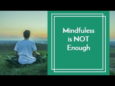 Mindfulness is Not Enough: Importance of the Investigation Factor